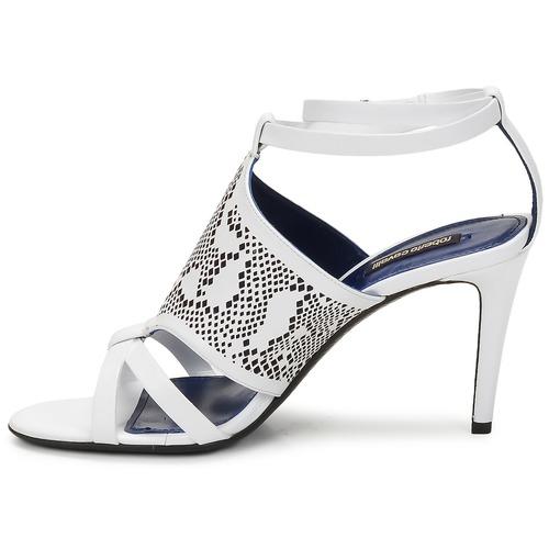 Cómodo y bien parecido Zapatos especiales Roberto Cavalli TPS016 Blanco