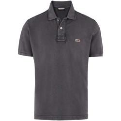 textil Hombre Tops y Camisetas Napapijri N0YHDX Gris
