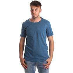 textil Hombre Tops y Camisetas Gaudi 911BU64027 Azul