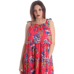 textil Mujer Vestidos Gaudi 911FD15039 Rosado