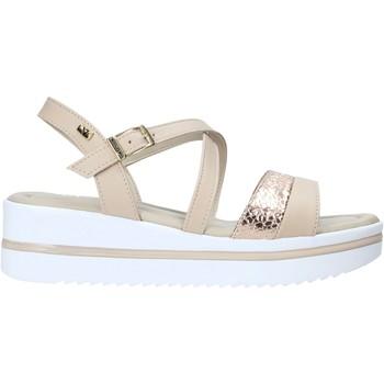 Zapatos Mujer Sandalias Valleverde 32320 Beige