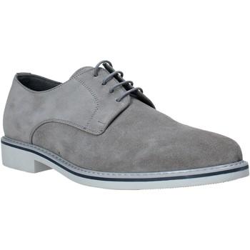 Zapatos Hombre Derbie Melluso XU15735 Gris