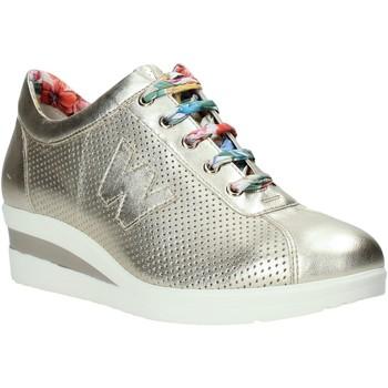 Zapatos Mujer Zapatillas bajas Melluso HR20110 Oro