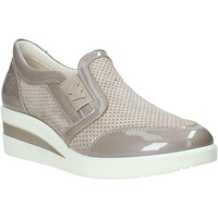Zapatos Mujer Slip on Melluso R2180X Beige
