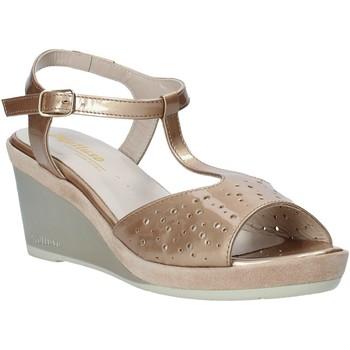 Zapatos Mujer Sandalias Melluso HR70520 Oro