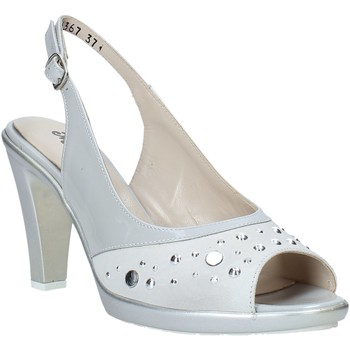 Zapatos Mujer Sandalias Melluso HR50131 Gris