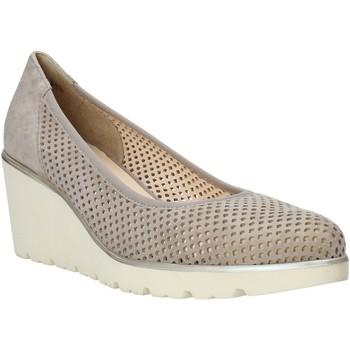 Zapatos Mujer Mocasín Melluso HR2510 Beige
