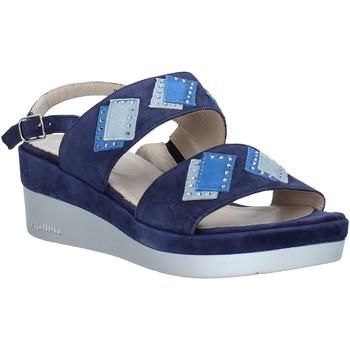 Zapatos Mujer Sandalias Melluso HR70717 Azul
