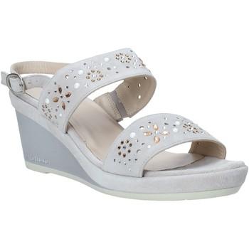 Zapatos Mujer Sandalias Melluso HR70512 Gris