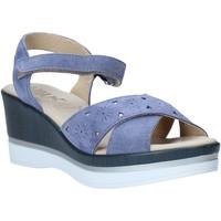Zapatos Mujer Sandalias Melluso .037064F Azul