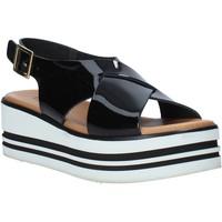 Zapatos Mujer Sandalias Melluso 09603X Negro