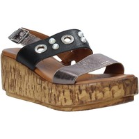 Zapatos Mujer Sandalias Melluso HK55056F Gris