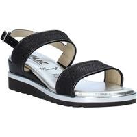 Zapatos Mujer Sandalias Melluso H037073 Negro