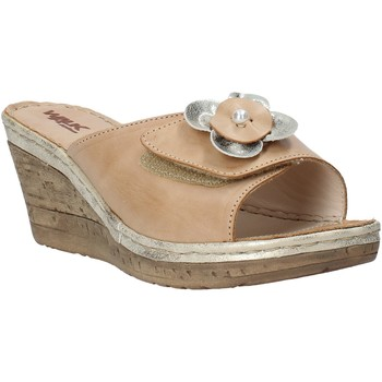 Zapatos Mujer Zuecos (Mules) Melluso H019057 Beige