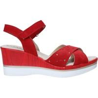 Zapatos Mujer Sandalias Melluso 037064F Rojo