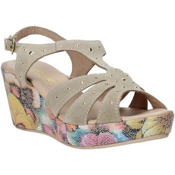 Zapatos Mujer Sandalias Melluso H037040 Beige