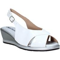 Zapatos Mujer Sandalias Melluso 037084X Blanco