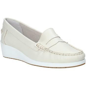 Zapatos Mujer Mocasín Melluso 0250X Beige