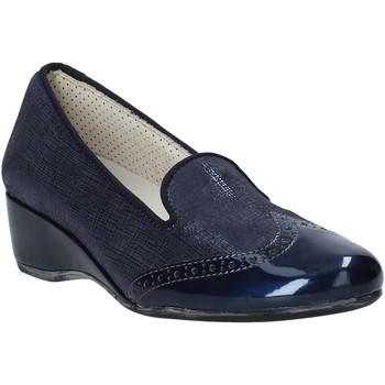 Zapatos Mujer Mocasín Melluso H08131 Azul