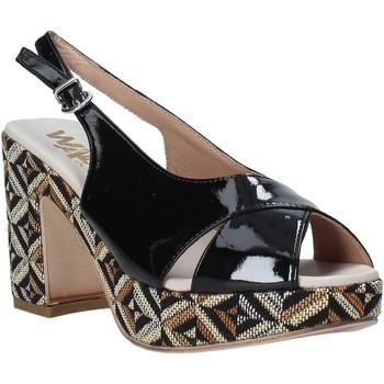 Zapatos Mujer Sandalias Melluso H037080 Negro
