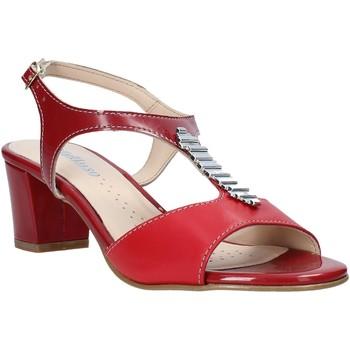 Zapatos Mujer Sandalias Melluso K95352 Rojo