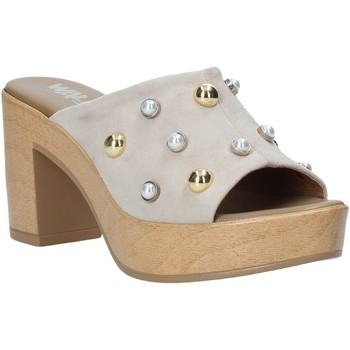 Zapatos Mujer Zuecos (Mules) Melluso HR80101 Gris