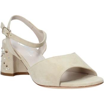 Zapatos Mujer Sandalias Melluso HS531 Beige