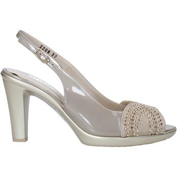 Zapatos Mujer Sandalias Melluso HR50117 Gris