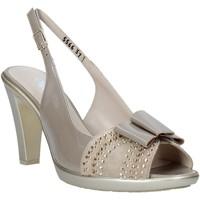 Zapatos Mujer Sandalias Melluso HR50124 Gris