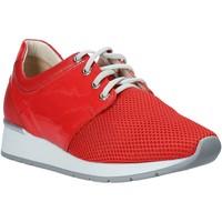 Zapatos Mujer Zapatillas bajas Melluso HR20012 Rojo