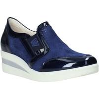 Zapatos Mujer Mocasín Melluso HR20109 Azul