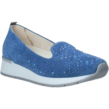 Zapatos Mujer Mocasín Melluso HR20021 Azul