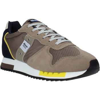 Zapatos Hombre Zapatillas bajas Blauer S1QUEENS01/STO Beige