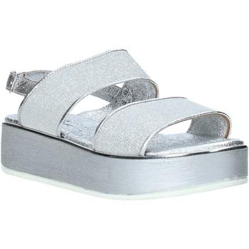 Zapatos Mujer Sandalias Melluso 09620X Plata