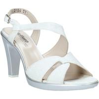Zapatos Mujer Sandalias Melluso HR50138 Plata