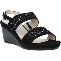Zapatos Mujer Sandalias Melluso HR70512 Negro