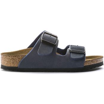 Zapatos Niños Zuecos (Mules) Birkenstock 552903 Azul