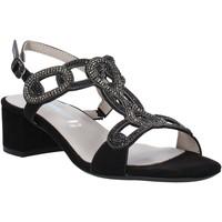 Zapatos Mujer Sandalias Valleverde 45140 Negro