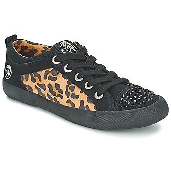 Zapatos Mujer Zapatillas bajas Diesel LEOPAR Negro