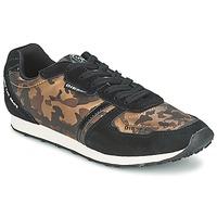 Zapatos Mujer Zapatillas bajas Diesel CAMOUFLAGE Marrón