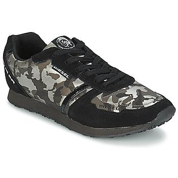 Zapatos Mujer Zapatillas bajas Diesel CAMOUFLAGE Negro