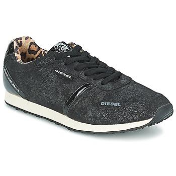 Zapatos Mujer Zapatillas bajas Diesel METAL Negro