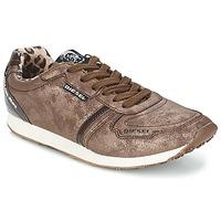 Zapatos Mujer Zapatillas bajas Diesel METAL Marrón