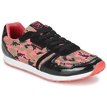Zapatos Mujer Zapatillas bajas Diesel CAMOUFLAGE Camuflaje