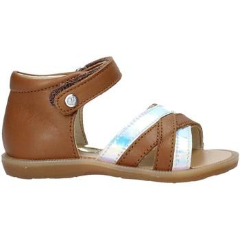 Zapatos Niña Sandalias Naturino 502678 02 Marrón