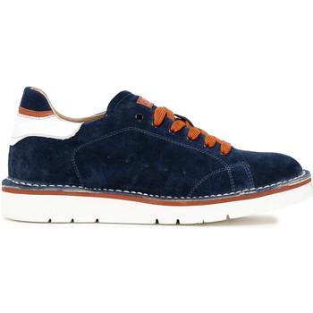Zapatos Hombre Zapatillas bajas Café Noir TS6010 Azul