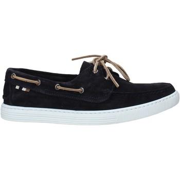 Zapatos Hombre Zapatos náuticos Café Noir TR6010 Azul