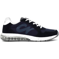 Zapatos Hombre Zapatillas bajas Café Noir MT9210 Azul