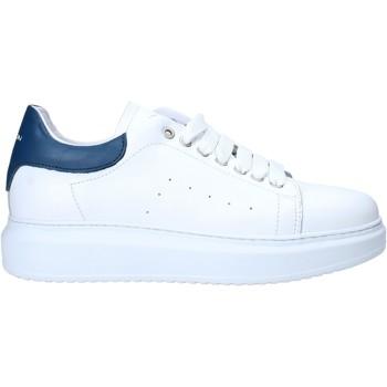 Zapatos Hombre Zapatillas bajas Exton 955 Blanco