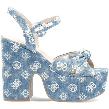 Zapatos Mujer Sandalias Guess FL6RIO DEN03 Azul